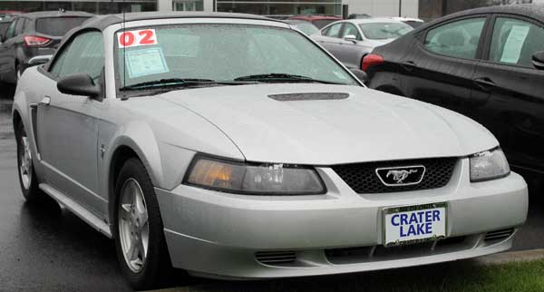 02 mustang cvt v6 crater lake ford or