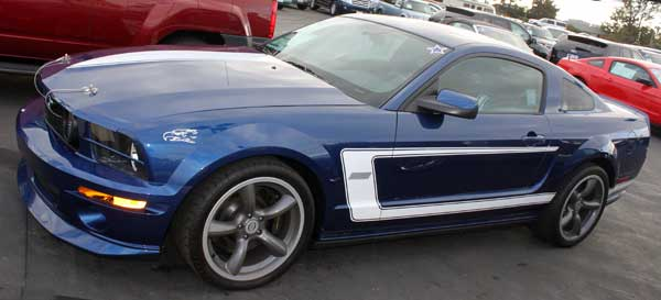 2008 mustang saleen dan gurney supercharged grody carlsbad