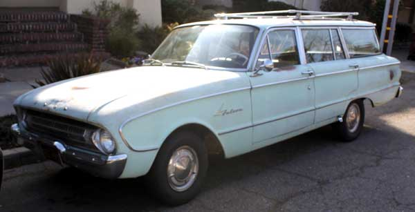 61 ford falcon station wagon oakland ca f