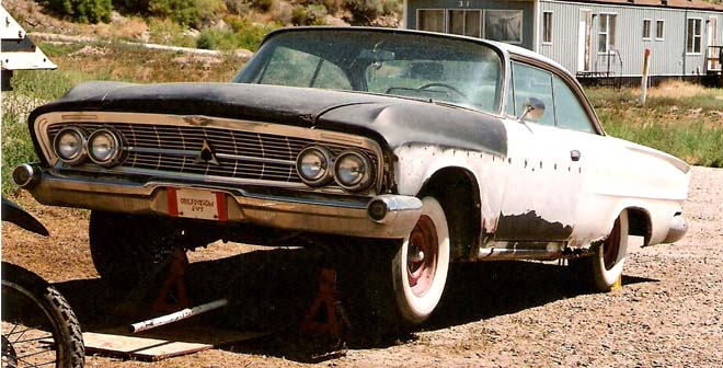 62 dodge custom 880 desert