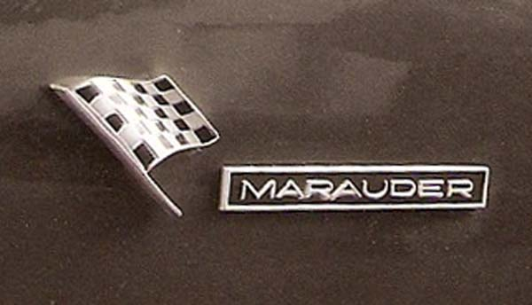 64 marauder check flag closeup