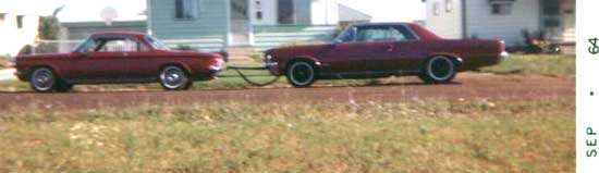 64 GTO seymore w tow vehicle