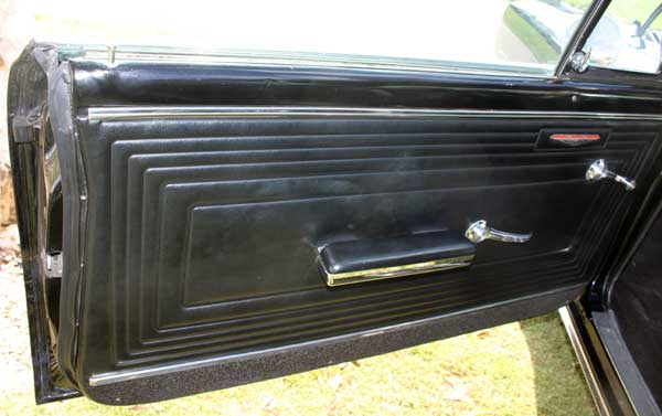65 gto barry troup driver door panel