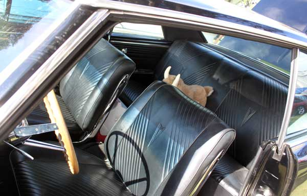 65 gto barry troup front seats