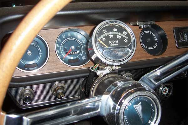 65 GTO seymore dash 2008