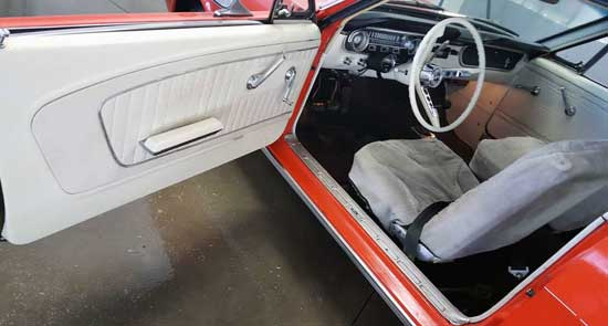 65 Ford Mustang 289 4 spd west kelowna dr panel