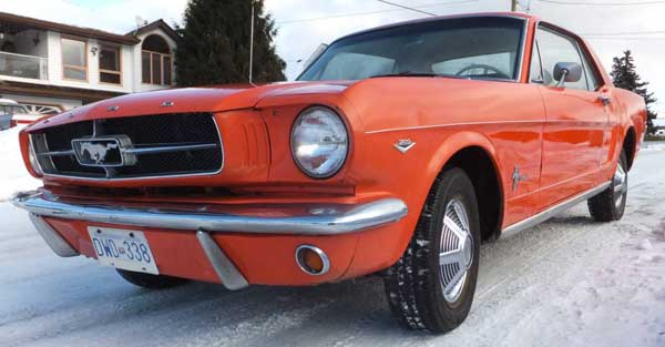 65 Ford Mustang 289 4 spd west kelowna f