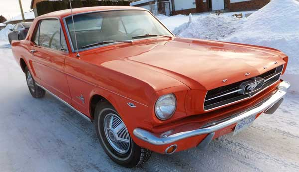 65 Ford Mustang 289 4 spd west kelowna f p