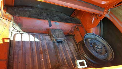 1965 ford mustang 289 4-speed west kelowna-trunk