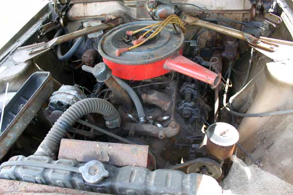 66 AMC ambassador 990 lake cowichan engine