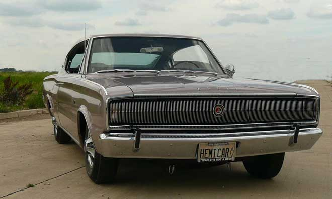 66 charger hemi one owner front
