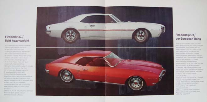 68 firebird brochure ho