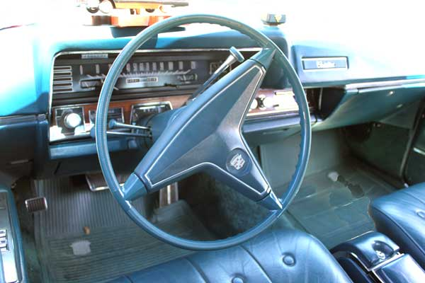 68 cadillac coupe deville bruce steering wheel