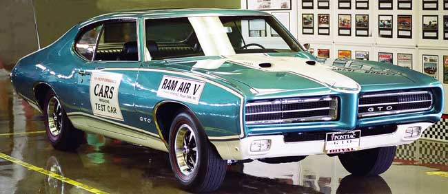 69 gto ram air V royal pontiac turqoise