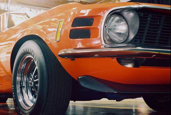 70 mustang boss 429 front nose