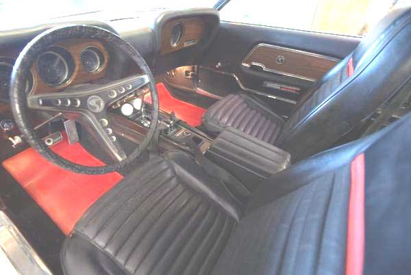 70 ford mustang gt 500 scott interior