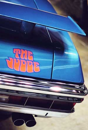 71 gto judge convertible lucerne logo wing