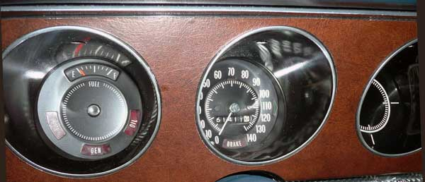 71 gto judge convertible lucerne speedometer
