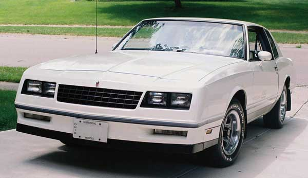 83 monte carlo ss sprinkles front three quarter