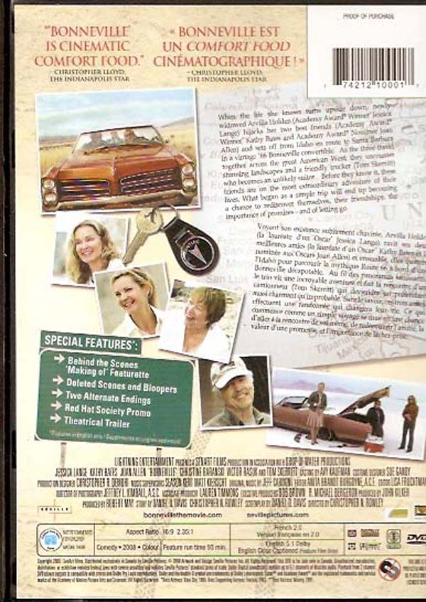 bonneville dvd back