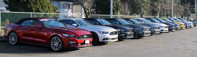 dealer mainland ford front surrey bc mustangs