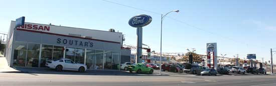 dealer soutars ford nissan barstow ca