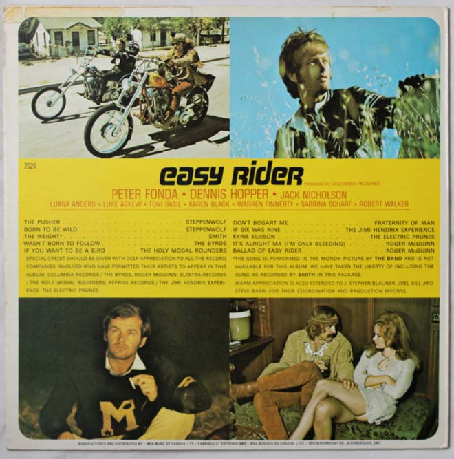 easy rider rear lp