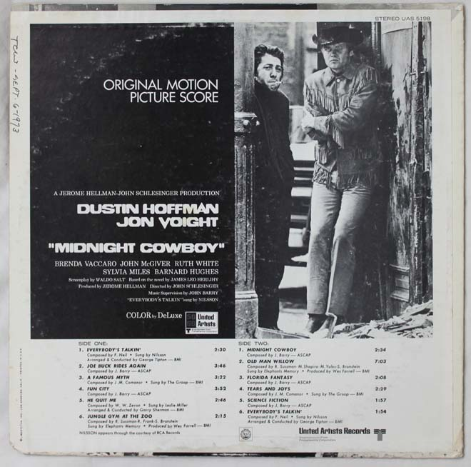 midnight cowboy reear lp