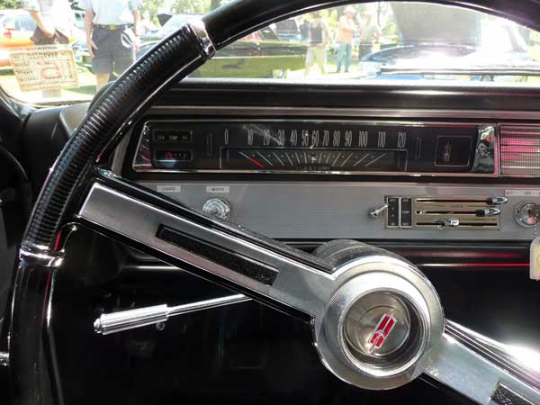 65 olds F85 black survivor speedometer