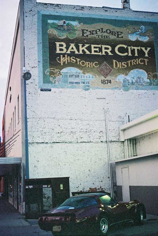 OOCC trip vette baker city or