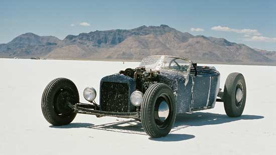 OOCC trip bonneville salt flat rat rod