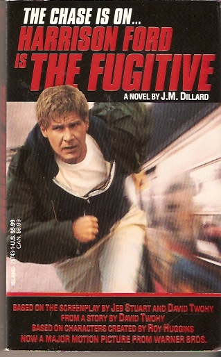 the fugitive movie tie in book