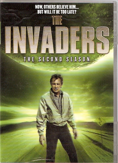 the invaders 2nd season dvd