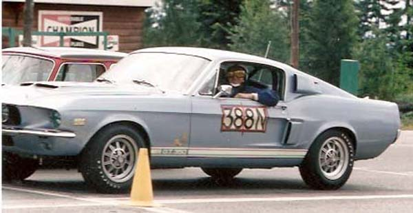 67 gt350 fidel kunz at wheel
